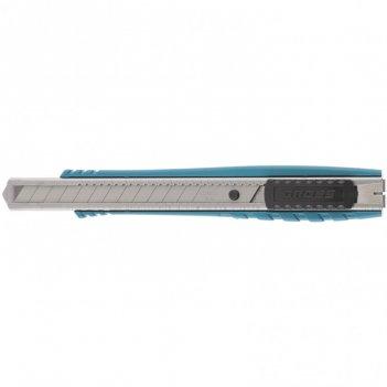 Нож, 130 мм, металлический корпус, выдвижное сегментное лезвие 9 мм (sk-5)