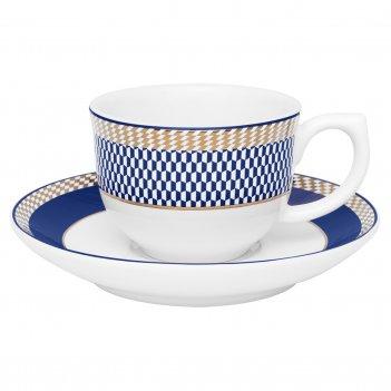 Чайная пара (чашка + блюдце) oxford 100 мл
