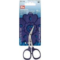 Ножницы professional для вышивания (сталь) согнутые, 10,0 см