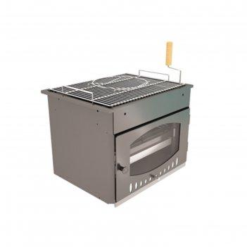 Топка гриля suomi grill insert, решётка-гриль из нержавеющей стали, 62,5 х