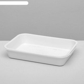 Туалет средний с сеткой, 36 х 26 х 6,5 см, белый