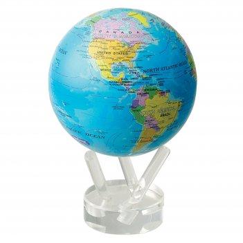 Глобус мобиле d12 см с  политической  картой мира