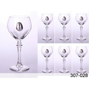 Бокалы для вина в набореиз 6 шт.