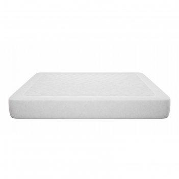 Наматрасник simple, размер 140 x 200 см, поликоттон, белый