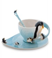 Fm-01/29 чайная пара пингвины (pavone)