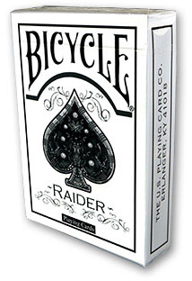 Карты bicycle raider deck white - us playing card