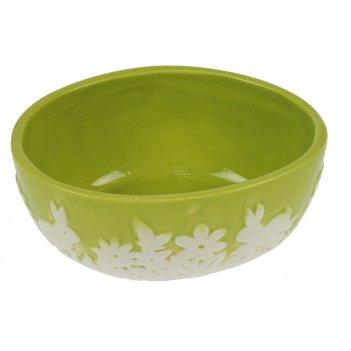 Тарелка под пасхальные яйца цветы 14*11*7см (уп.4/48шт.)