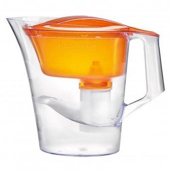 Фильтр-кувшин 4 л барьер-твист, цвет оранжевый
