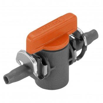 Клапан регулирующий, 3/16 (4.6 мм), набор 2 шт. в блистере, пластик, garde