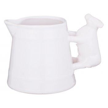 Молочник-сливочник хрюшка винтажный стиль 14*11*...