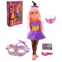 Кукла шарнирная, ведьмочка с аксессуарами