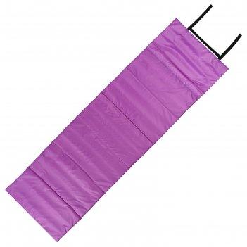 Коврик складной 170*51 см, цвет фиолетово/розовый