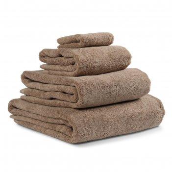 Полотенце банное essential, размер 90х150 см, цвет коричневый