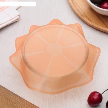 Крышка универсальная для хранения продуктов «цитрус», 18 см, цвет микс