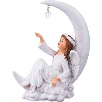 Фигурка ангелочек 14*5,5*18 см. (кор=18шт.)