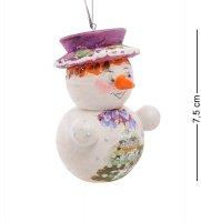 Елочная игрушка снеговик в асс.