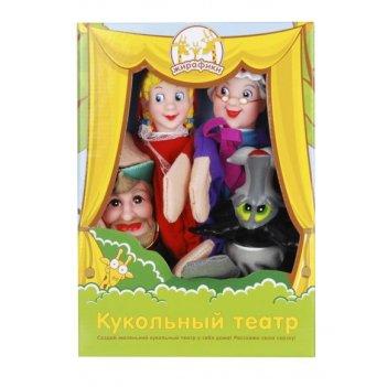 Кук. театр красная шапочка, 4 куклы