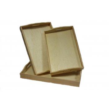 Деревянная заготовка для раскрашивания рто (набор из 3)