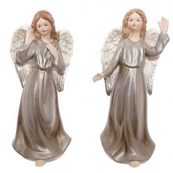 Фигурка декоративная  ангел, 6,2х5х15,1см, 2в