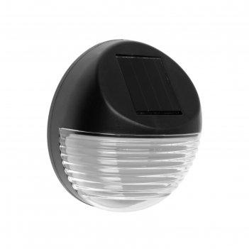 Садовый светильник на солнечной батарее uniel usl-f-151/pт110 bright, 2 le