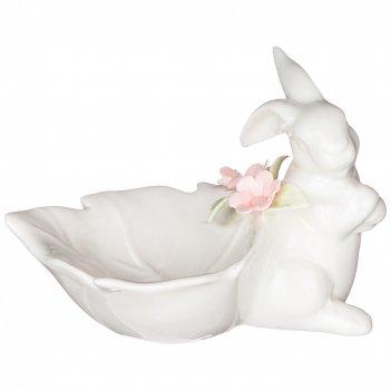 Статуэтка весенний кролик 14.5*10*10 см. (кор=36шт.)