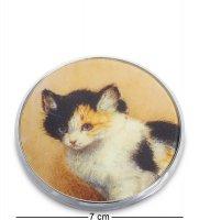 Pr-m17rk зеркальце пробуждение котенка генриетта роннер-книп (museum.paras