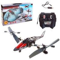Вертолет радиоуправляемый перевертыш, вращается на 180 градусов, цвета мик