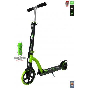 Y-scoo rt slicker 205 с амортизатором green