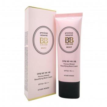 Bb-крем etude house precious mineral bb cream, оттенок sand spf50+/pa+++,