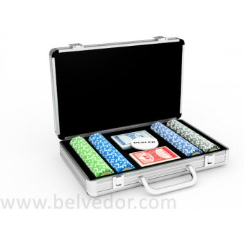 Набор для покера на 200 фишек national poker series 14 гр.