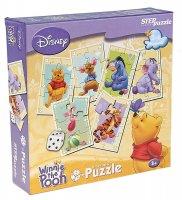 Настольная игра disney медвежонок винни кубик-puzzle