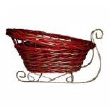 плетеные санки