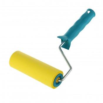 Валик прижимной акор эксперт, резина, 150 мм, ручка d=6 мм, d=45 мм, покры