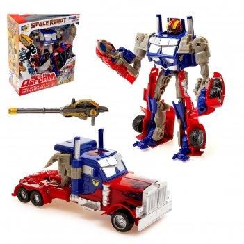 Робот-трансформер грузовик