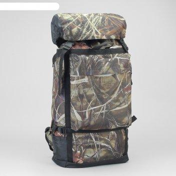 Рюкзак туристический на молнии боровик, 40 л, 1 отдел, 3 наружных кармана