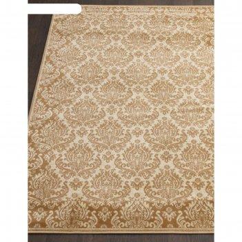 Прямоугольный ковёр izmir d716, 100x200 см, цвет beige