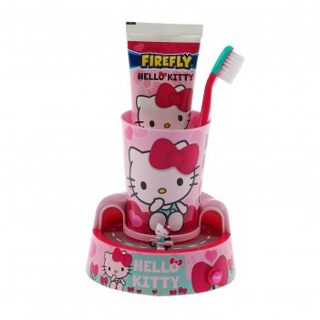 Набор hello kitty timer gift set hk-13: электрическая зубная щетка turbo +