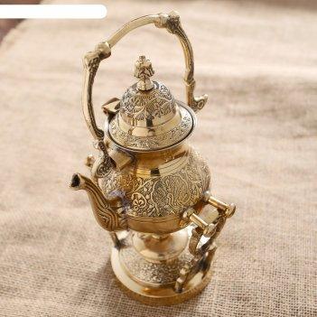 чайники из бронзы
