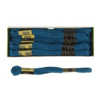 Мулине 10м, (№2906), цвет синий