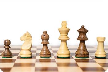Фигуры шахматные классические, король 6,5см