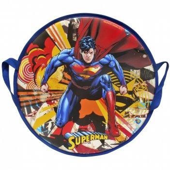 1toy wb супермен, ледянка,  52 см, круглая