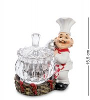Hf-55 фигурка повар с вазочкой