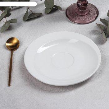 Блюдце tiffany, 16х2 см