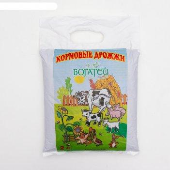 Дрожжи кормовые добрый селянин белковая кормосмь, 2 кг