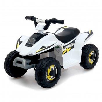 Электромобиль квадроцикл, цвет белый