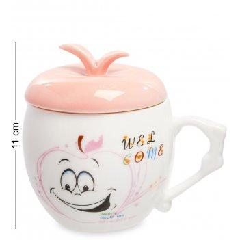 Mug-148/4 кружка веселое яблочко