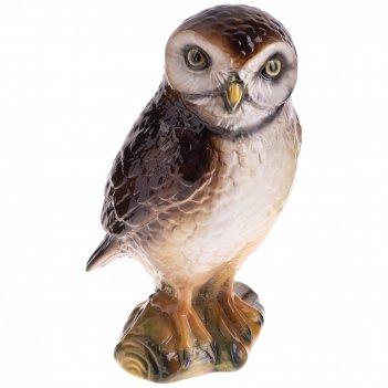 Декоративное изделие сова 17*15 см. высота=28 см.