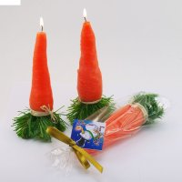 Декоративная свеча нос-морковка 1шт