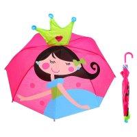 Зонт детский я - принцесса, диаметр 66 см