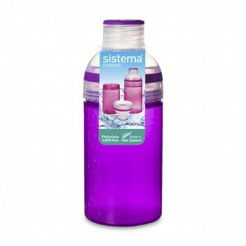 Бутылка для воды трио, объем: 580 мл, материал: пластик, серия hydrate, s8